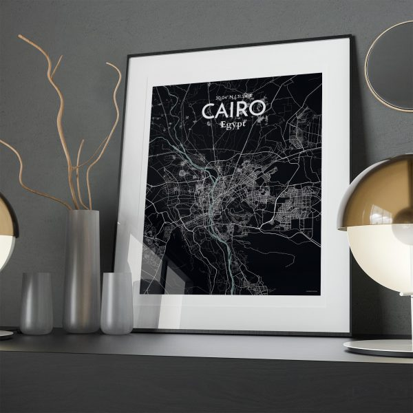 Cairo City Map Poster by OurPoster.com